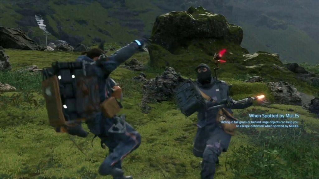 Death Stranding, mules fight
