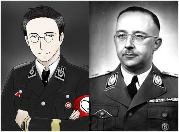 Гиммлер, Аниме