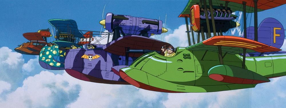 Самолеты в аниме Порко Россо