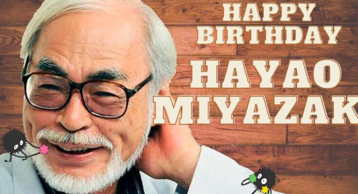 День рождения Хаяо Миядзаки