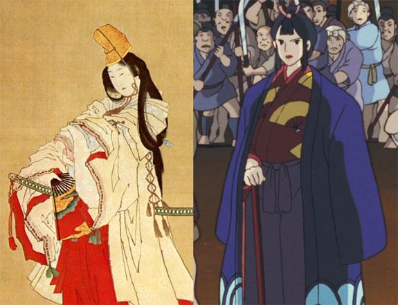 Принцесса Мононоке, костюм Эбоси