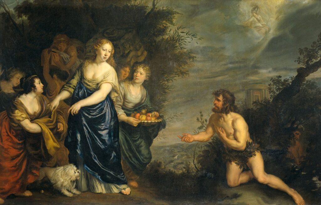 Навсикая, Одиссея