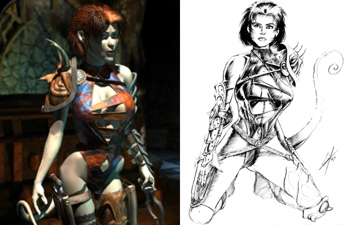 Annah of the Shadows, Planescape Torment